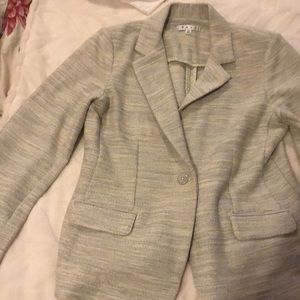 CAbi jacket size 10 (barely worn) light grey